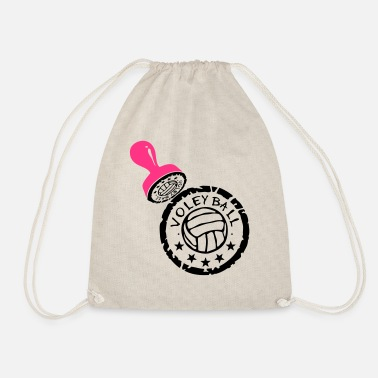 Buffer volleyball waterpolo buffer buffer puff - Drawstring Bag