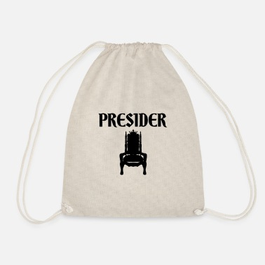 Presider (Black Badge Logo) - Drawstring Bag