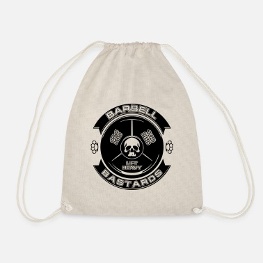 Barbell Bastards Lift Heavy - Drawstring Bag