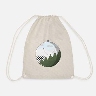 Ski Slope Ski slopes - Drawstring Bag