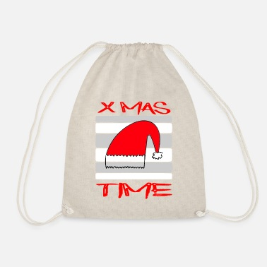 Bino92 X Mas Time / Reindeer / Sayings / Trend - Drawstring Bag