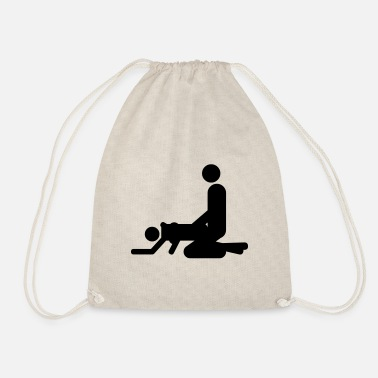 Sex Sex position from behind - Drawstring Bag