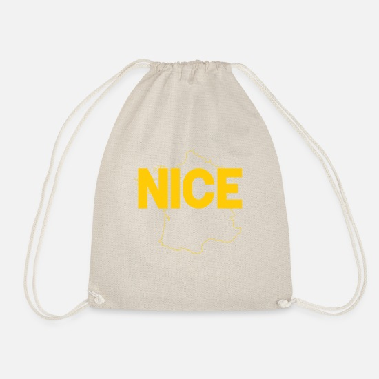 Nice Bags & Backpacks - Nice as Nice - Drawstring Bag nature
