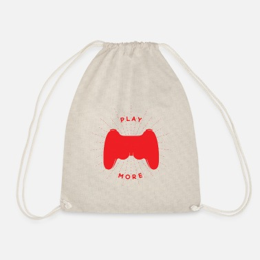 Console Gamer console - Drawstring Bag