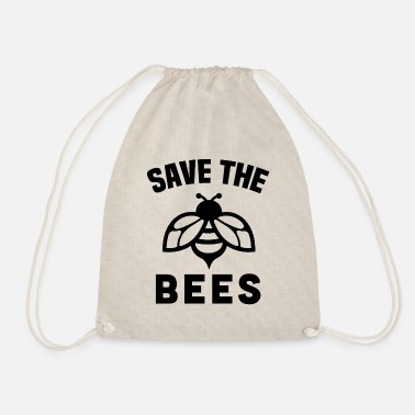 Save The Bees Earth Day - Gymbag
