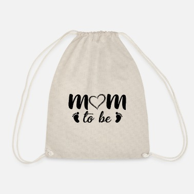 Mother-to-be To be a mother - Drawstring Bag