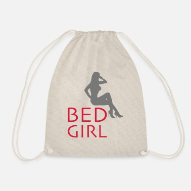 Bed girl - Drawstring Bag