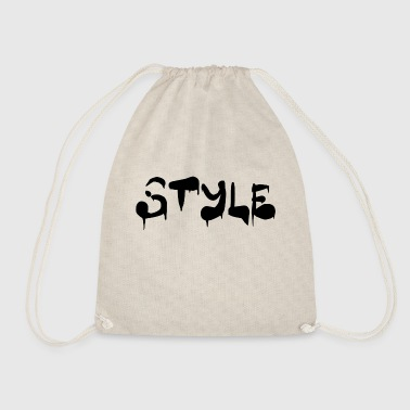 Style Style - Drawstring Bag