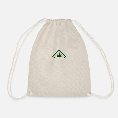 cannabis - Drawstring Bag