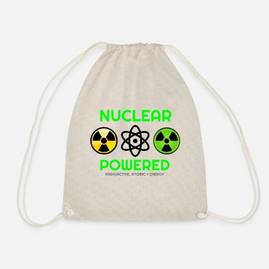 Nucleaire Het draait allemaal om nucleaire, nucleaire, nucleaire hoodies, - Gymtas