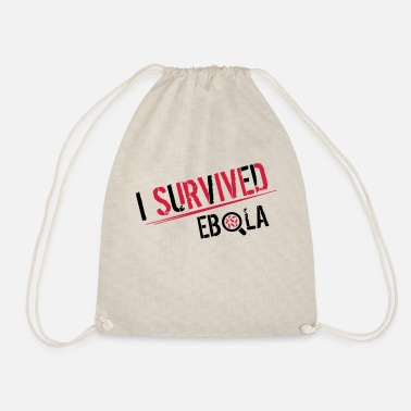 I Survived I survived Ebola - Sacca sportiva