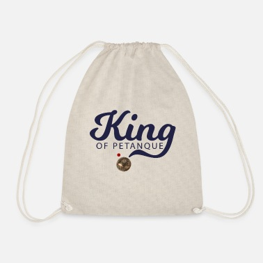 Petanque KING OF PETANQUE - Drawstring Bag