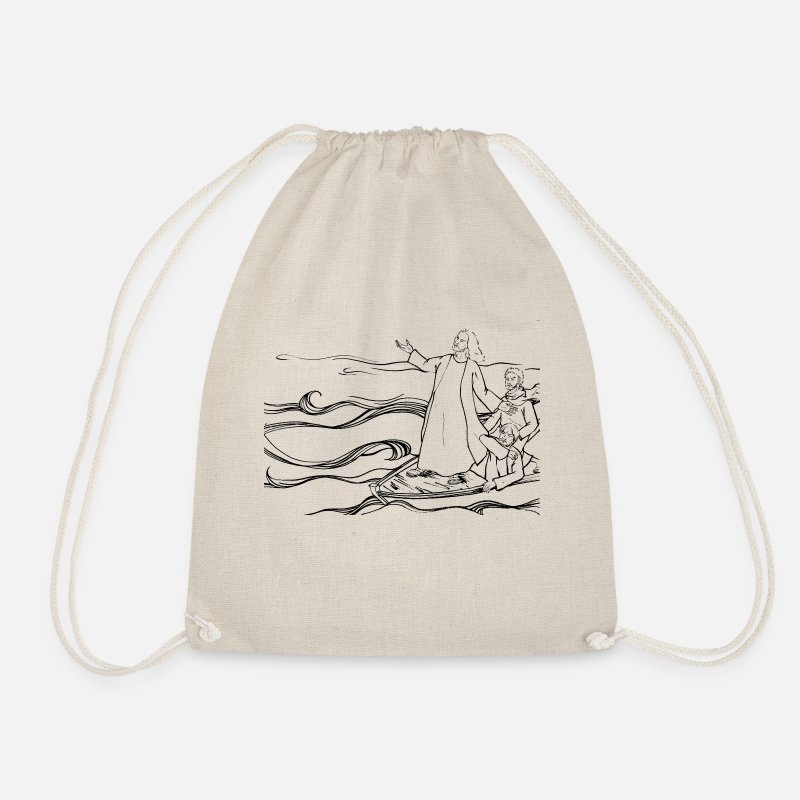 Christianity Bags & Backpacks - Christianity - Drawstring Bag nature