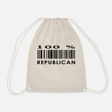 Republicans republican - Drawstring Bag