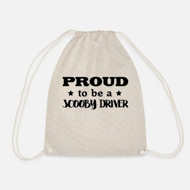 Scooby scooby driver proud to be - Drawstring Bag