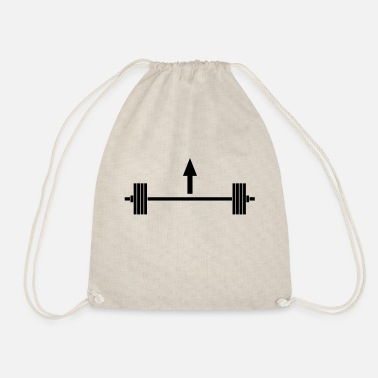 Lift heavy things - Drawstring Bag