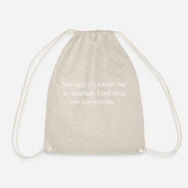 Aviation Aviation - Drawstring Bag