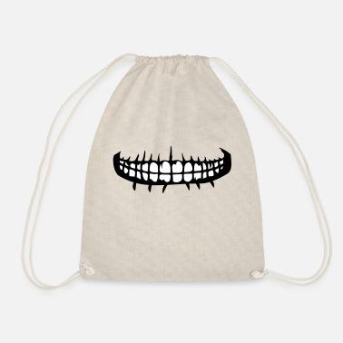 Horror denti bocca sorriso orrore di halloween spaventoso boes - Sacca  sportiva f7f025c01222