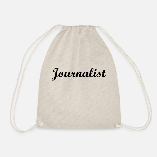 News Bags & Backpacks - Journalist - Drawstring Bag nature
