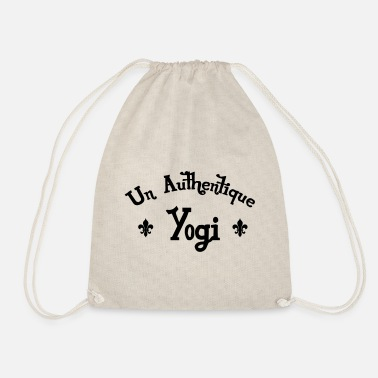Philosophie Un Authentique Yogi - Sac à dos cordon