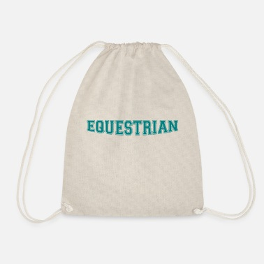 Writing Equestrian Writing - Gymbag