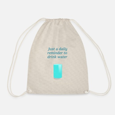 Reminder thanks for the reminder - Drawstring Bag