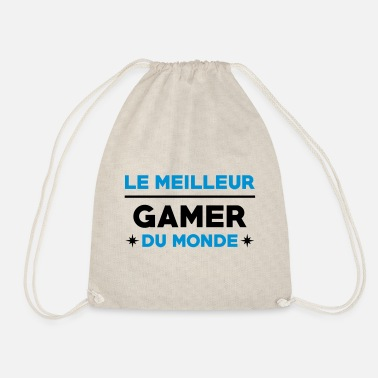 Anonymous Le meilleur Gamer du monde / Gaming - Sac à dos cordon