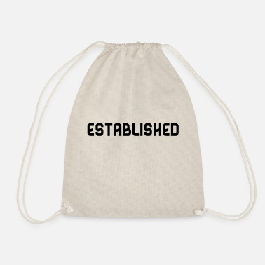 Established Established B - Drawstring Bag