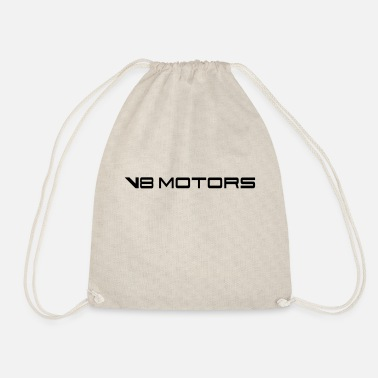V8 V8 engine - Drawstring Bag