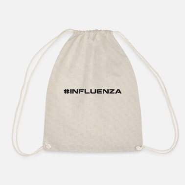 Influenza influenza - Drawstring Bag