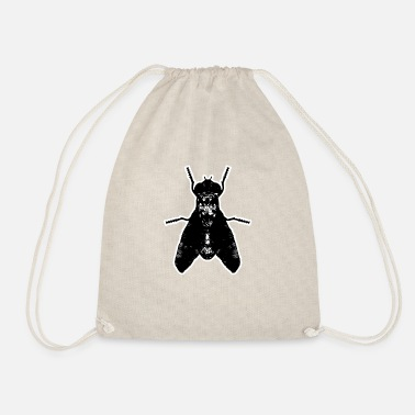 Fly-insect Insect insect fly artistic - Drawstring Bag