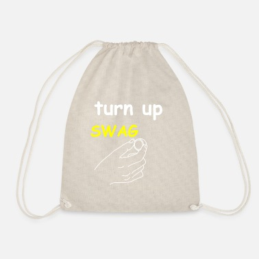 Turn On Turn the swag on - Drawstring Bag