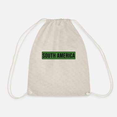 South America South America - South America - Drawstring Bag