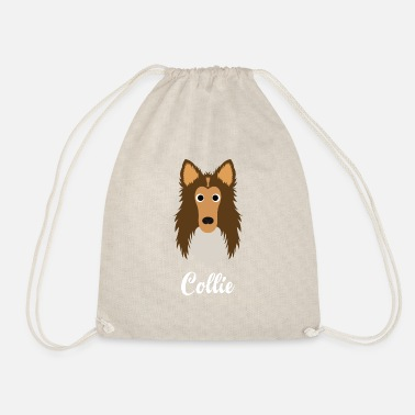 Collie Collie - Rough Collie - Drawstring Bag