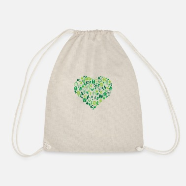 Protection Of The Environment Environment - Environmental Protection - Drawstring Bag