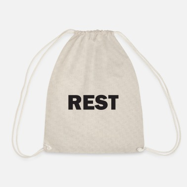 Rest Rest - Turnbeutel