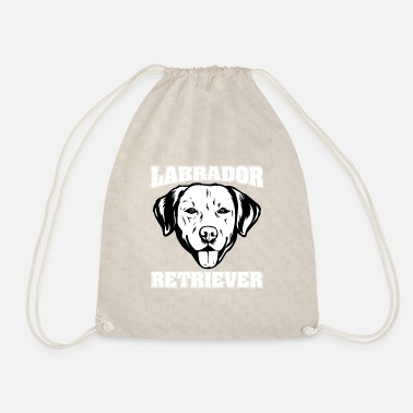 Newfoundland Labrador Retriever LABRADOR RETRIEVER dog pet - Drawstring Bag