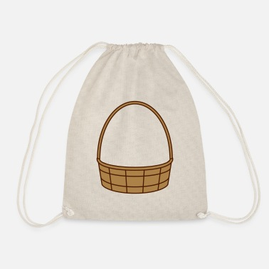 Basket fill basket basket easter basket gifts - Drawstring Bag