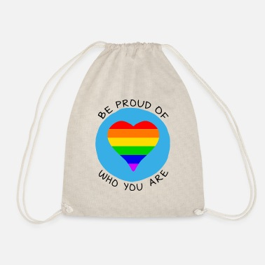 Innocence Be proud of who you are LGBT - Drawstring Bag
