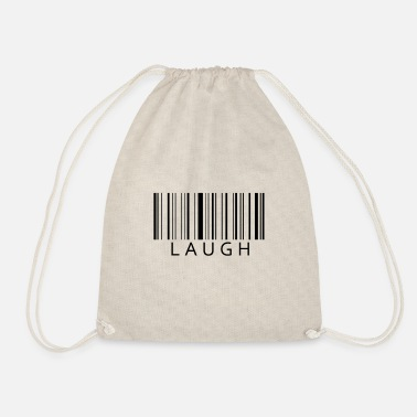 Laugh Laugh Laugh - Drawstring Bag