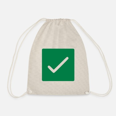 Confirmation chop confirm - Drawstring Bag