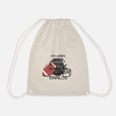 football - Drawstring Bag