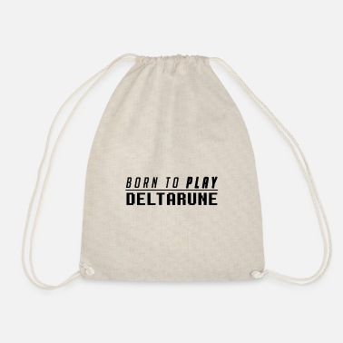 Undertale Born to PLAY DELTARUNE - Drawstring Bag