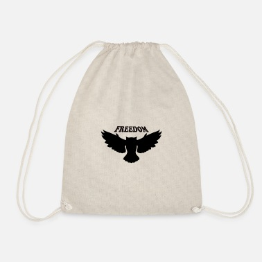 Freedom Freedom Freedom - Drawstring Bag