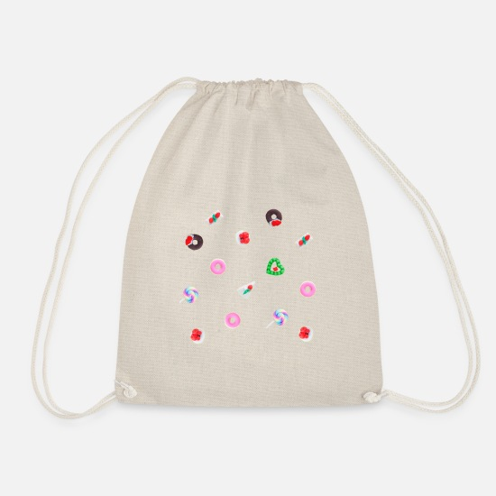 Look Good Bags & Backpacks - Sweets - Drawstring Bag nature