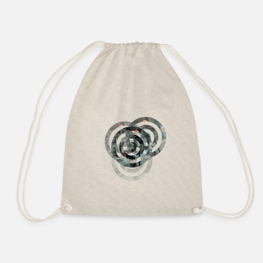 Circle Circles - Drawstring Bag