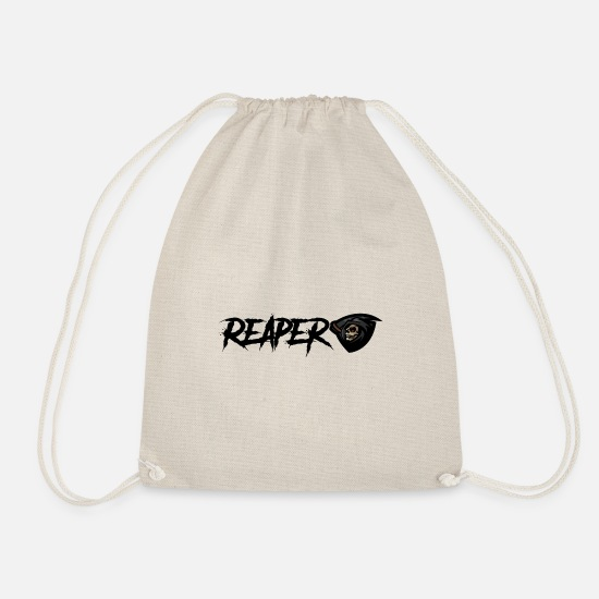 Gift Idea Bags & Backpacks - Grim Reaper - Reaper - Drawstring Bag nature