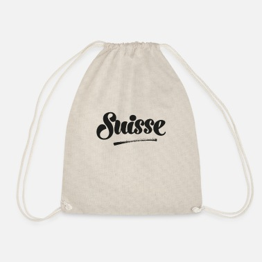 Swiss German Grüezi Switzerland Swiss Swiss German Switzerland - Drawstring Bag