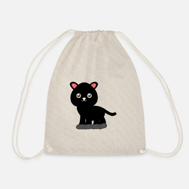 Legekammerat Søde Sort Panther Kids Gift Cute - Gymnastiktaske