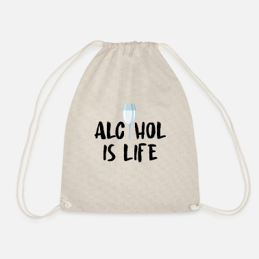 Alcohol Alcohol alcohol - Drawstring Bag